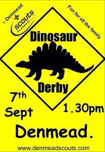 Dino Derby raises over £7000 – yes that's right!