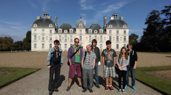 Visiting a chateau & the Tin Tin museum