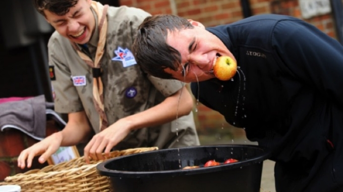 Explorers support Denmead Apple Festival